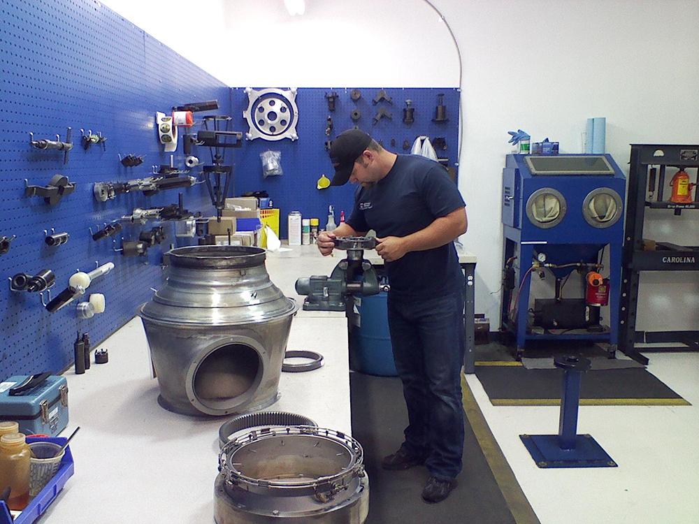 JT15D Turbine Engine Inspection